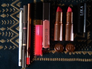 My make-up for lips