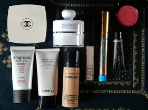 My make-up for face