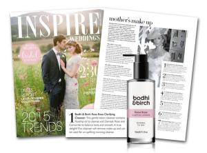 Bodhi & Birch in Inspire Weddings Magazine