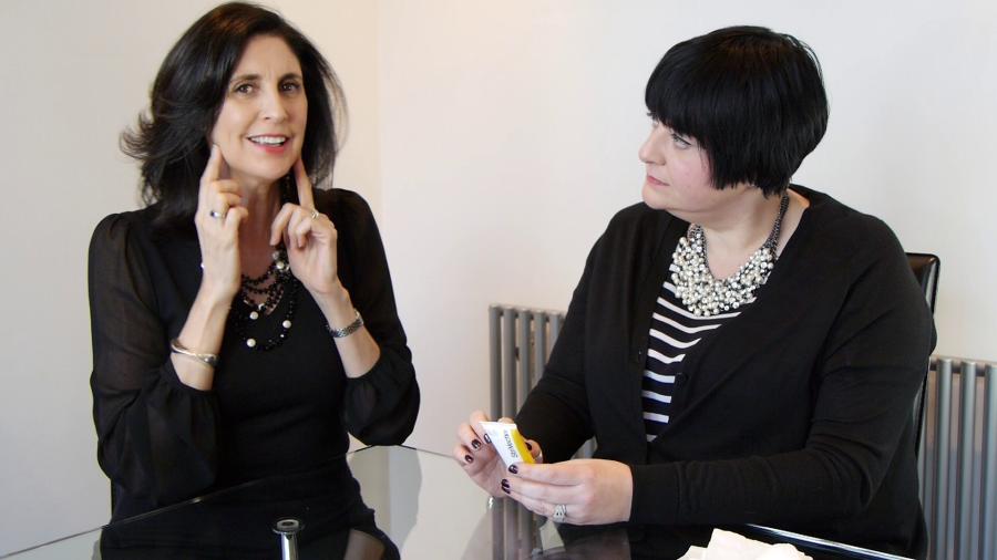 Nikki Taylor & Tracey McAlpine review the new StriVectin Tightening Neck Serum Roller