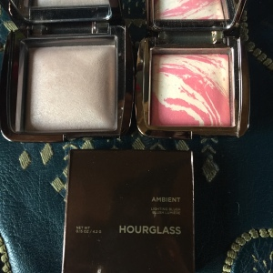 Houglass Ambient Lighting Powder in Dim Light & Ambient Lighting Blush in Diffused Heat
