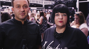 Nikki Taylor & Barrie Griffith Behind The Scenes at IMATS London