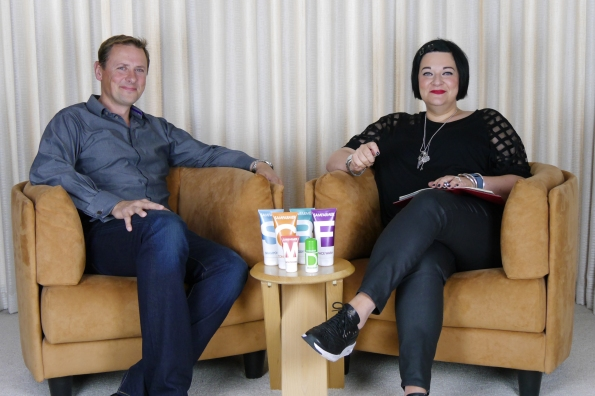 Nikki Taylor interviews brand founder Sam Farmer