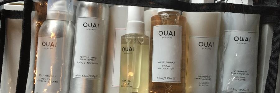 OUAI Haircare training kit