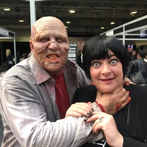 Nikki Taylor narrowly escapes from IMATS (it's ok it's an annual tradition now)
