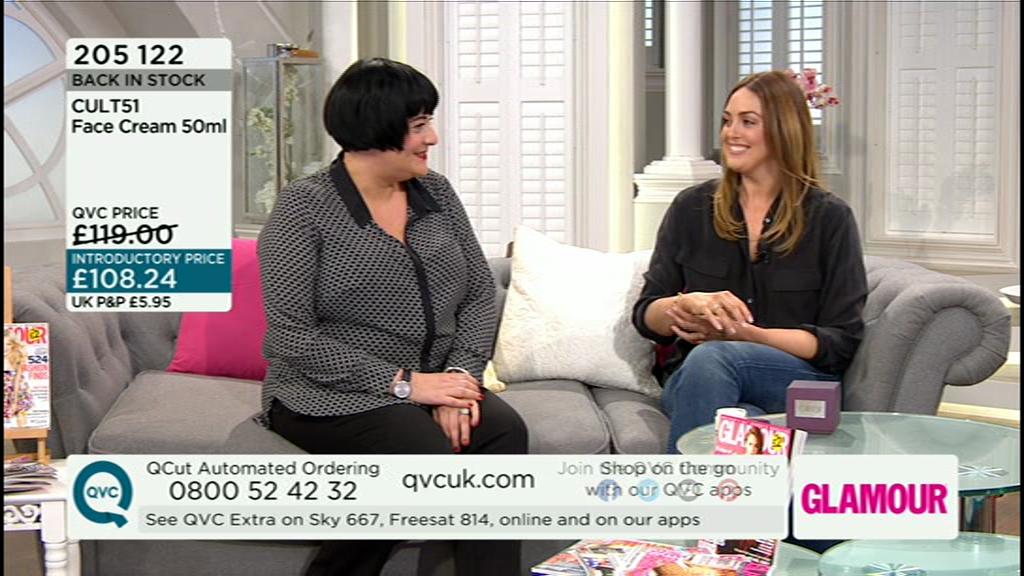 Nikki Taylor with Alex Steinherr on QVC TV