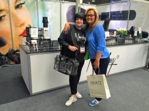 Nikki Taylor with Caroline Hirons