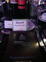 Nikki Taylor attending the Professional Beauty Awards 2015 with her client Sothys