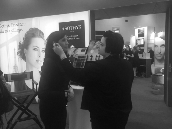 Nikki Taylor at Professional Beauty London for Sothys