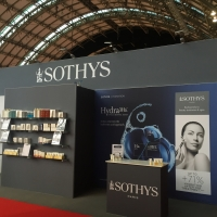 View of the Sothys stand at Professional Beauty North 2015