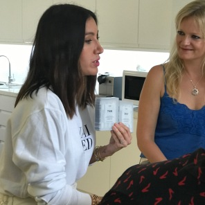 Jen Atkin with co-founder of Cult Beauty Alexia Inge