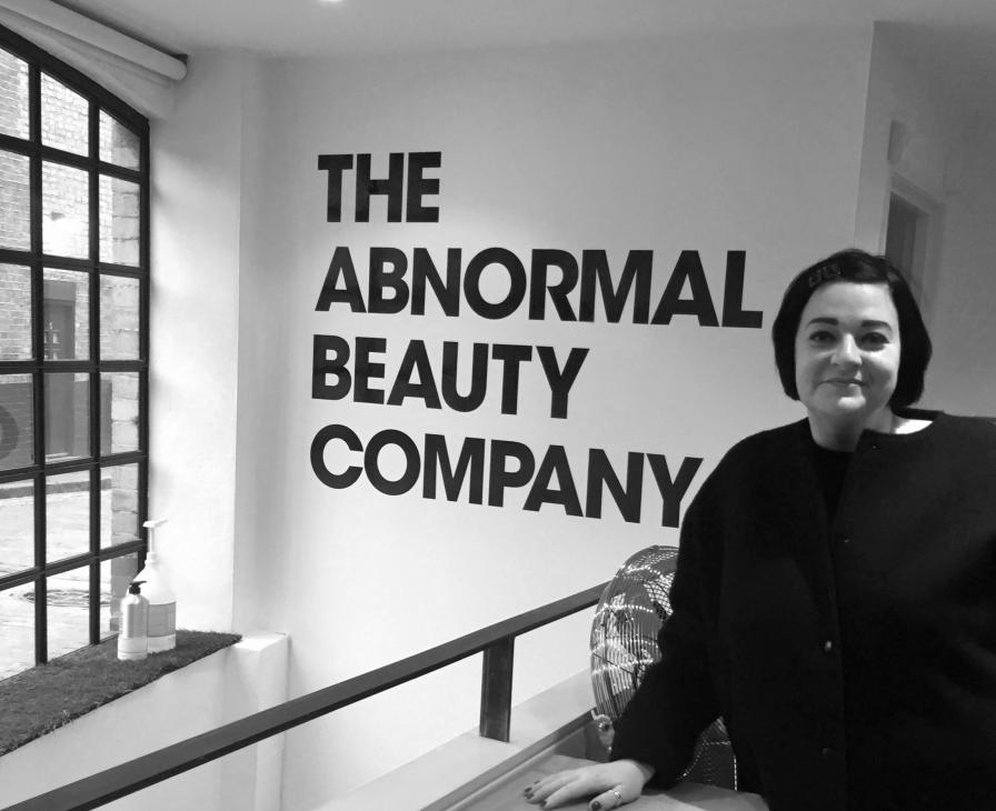 Nikki Taylor at the London HQ of Deciem