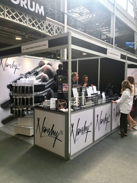 The Nanshy booth at IMATS
