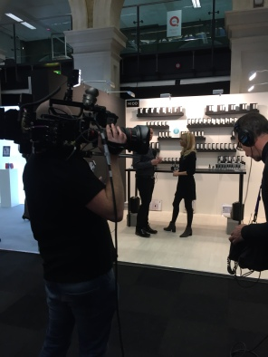 Nicola Kilner Reddington of Deciem interviewed by QVC's Will Gowing