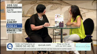 Nikki Taylor on QVC with Pipa Gordon on QVC TV