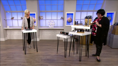 Nikki Taylor with Jackie Kabler on QVC TV